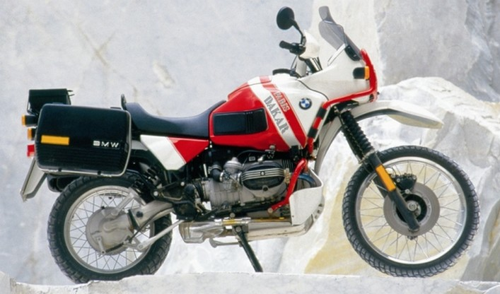 BMW 100GS Paris Dakar