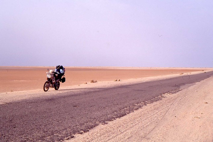 Transalp Sahara occidental