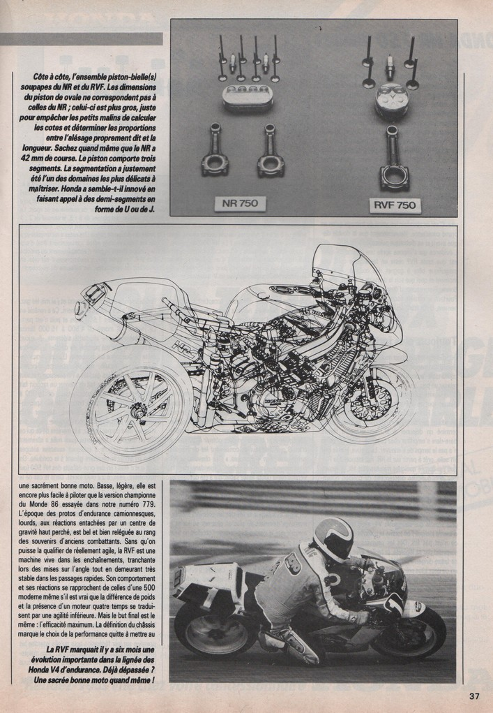 Honda NR 750 Moto Journal 30 avril 1987
